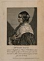 Mary Davis, a woman with horns, aged 74. Engraving, 1792. Wellcome V0007049EL.jpg