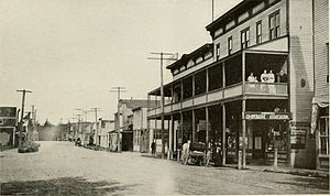 Marysville, Washington - Front Street in Marysville, pictured in 1912