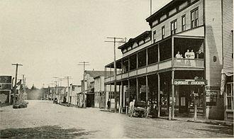 Marysville, Washington - Front Street in Marysville, pictured in 1912