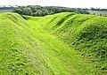 Massage defensive ditch at Rispain Settlement - geograph.org.uk - 1552524.jpg