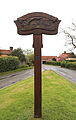 Matching Tye village sign, Essex, England.jpg