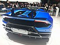Matte Blue Lamborghini Huracan Performante Spyder (Ank Kumar, Infosys) 04.jpg