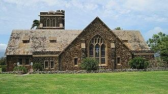 Charles William Dickey - Image: Maui Makawao Union Church southside