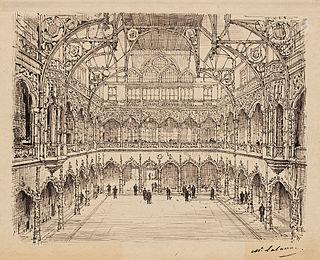 Bourse of Antwerp financial exchange