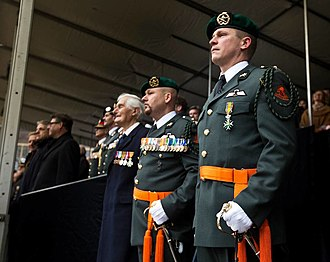 Korps Commandotroepen - Knighting of Gijs Tuinman.