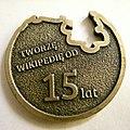 Medal Wikimedia Polska 15 lat rewers.jpg