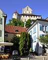 Meersburg Unterstadtkapelle und Burg.jpg