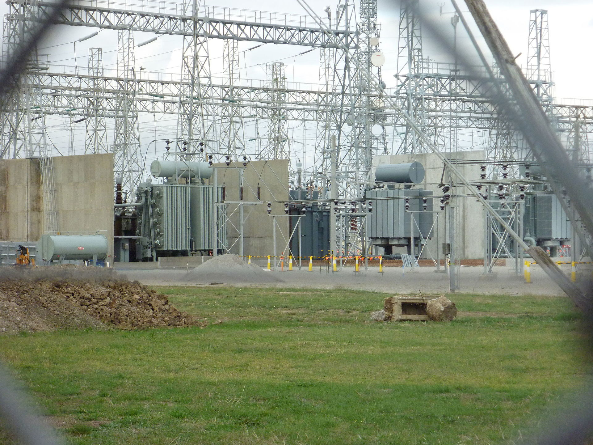 Electrical substation wikipedia for Substation pdf