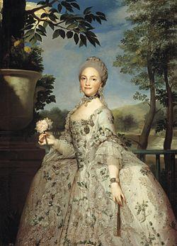 Maria Luisa de Parma, par Anton Raphael Mengs.