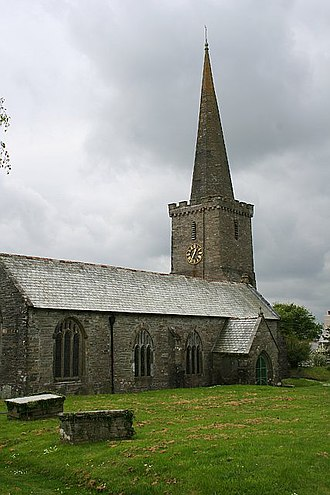 Menheniot - Image: Menheniot Church geograph.org.uk 171719