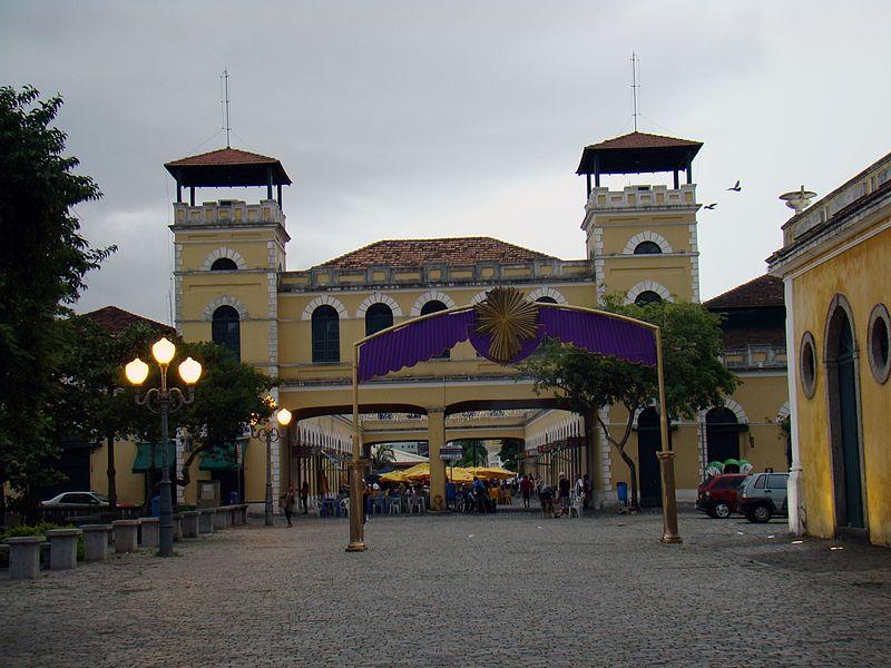 Mercado em Floripa