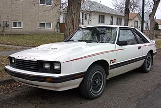 Mercury Capri - Mercury Capri RS