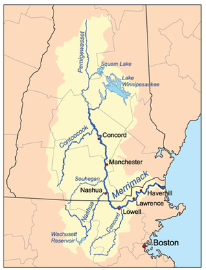 Merrimack River Wikipedia