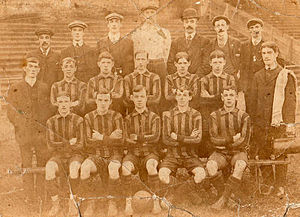 Merthyr Town F.C. - The Merthyr Town team of 1909
