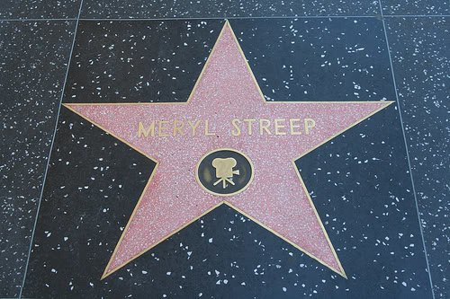 Meryl Streep - Walk of Fame