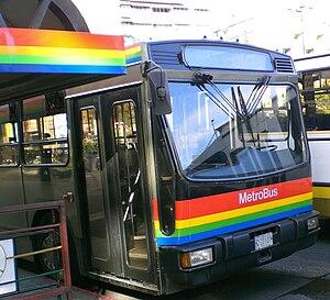 Caracas Metro - Metrobus unit