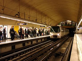 rapid transport system of Marseille, France