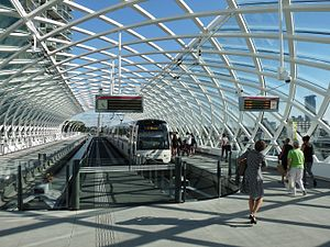 Den Haag Centraal railway station - New metro station