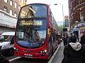 Metroline VWH1363 on Route 98, Holborn (14075857111).jpg