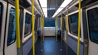 Metromover - Bombardier Innovia APM 100 interior
