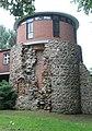 Meyenburg, Schloss, der Bergfried.JPG