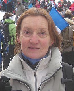 Michèle Jacot French alpine skier