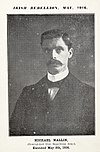Michael Mallin - (Commandant Irish Republican Army) Executed May 8th, 1916. (36052732403).jpg