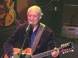 Michael Nesmith - Nesmith playing with The Monkees at the Chicago Theater, 2012