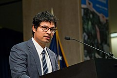 Michael Peña Labor Cesar E. Chavez Memorial Auditorium.jpg