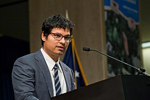 Michael Peña - Peña as the Master of Ceremonies for the Cesar E. Chavez Memorial