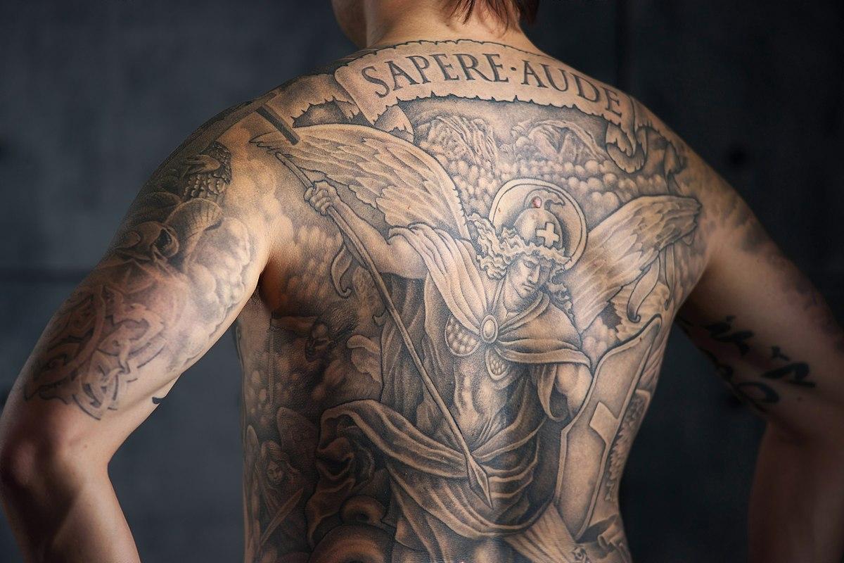Black Shaded Tattoos Designs