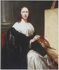 Michaelina Wautier - self-portrait with easel.jpg