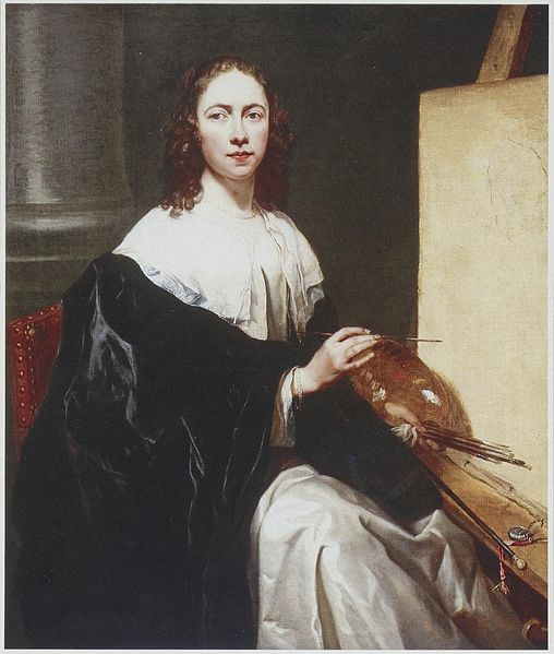 File:Michaelina Wautier - self-portrait with easel.jpg