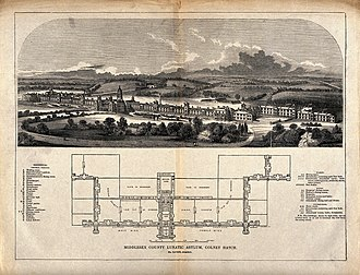Colney Hatch - Middlesex County Lunatic Asylum at Colney Hatch