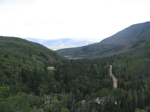 Midway, Utah - Heber Valley, looking toward Midway