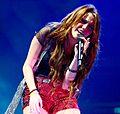 Miley Cyrus during the Wonder World concert in Detroit 11.jpg