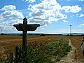 Milford Church signpost - geograph.org.uk - 228576.jpg