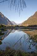 Milford Sound, 2016-01-31, view towards Lake Ada.jpg