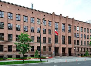 Ministry of Foreign Affairs (Poland) - The current seat of the Ministry of Foreign Affairs, located on Szucha Avenue