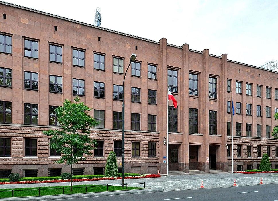 Ministerstwo Spraw Zagraniczych al. Szucha 23