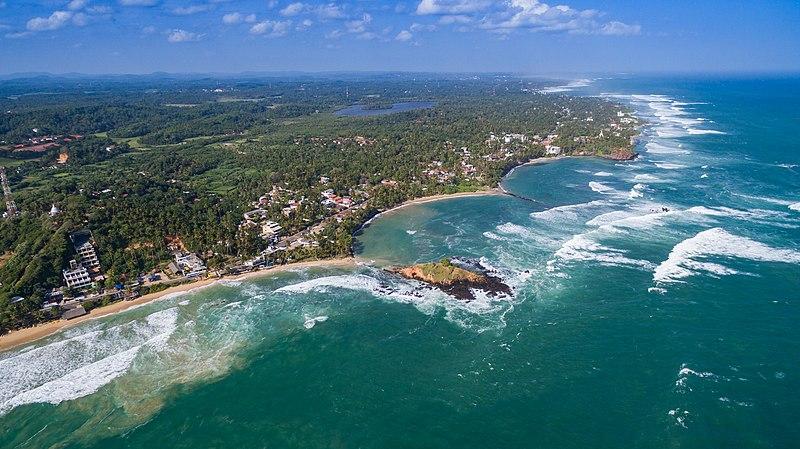 File:Mirissa beach aerial (29448581263).jpg