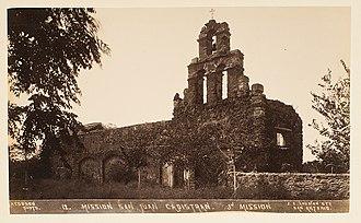 Mission San Juan Capistrano (Texas) - Image: Mission San Juan Capistran (sic). 3d Mission (8970506005)