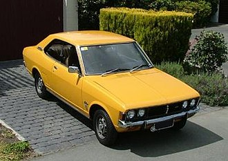 Mitsubishi Motors - A 1973 Mitsubishi Galant, the basis for the company's first captive import deal with Chrysler.