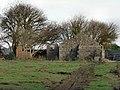 Mix of materials at Llandow - geograph.org.uk - 1032457.jpg