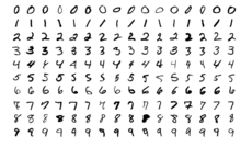 MNIST sample images
