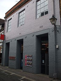 Photograph of the gallery entrance on Pembroke Street in Oxford