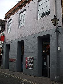 L'ingresso della galleria su Pembroke Street, Oxford