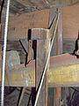 Molen Achtkante molen, kap vangbalk kneppel.jpg