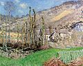 Monet, Claude - Winter Landscape at the Val de Falaise (Giverny) (1885).jpg