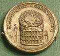Moneta con il colosseo, 240 dc.JPG